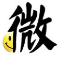 A smiley face forcing you to like this Chinese symbol