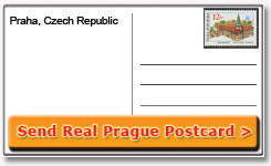 Mail Prague Postcard